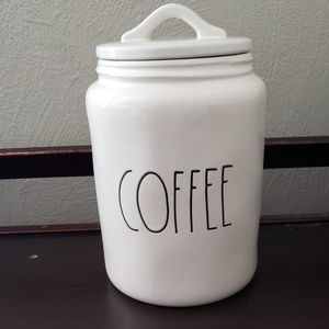 Rae Dunn COFFEW LL Canister Container